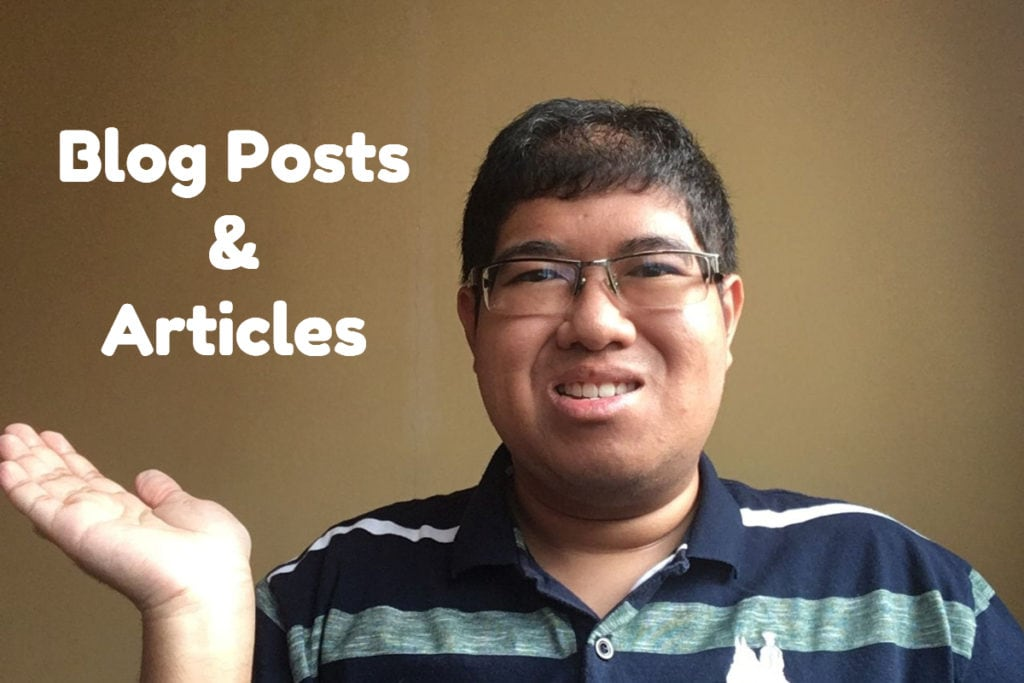 blog post & article writing