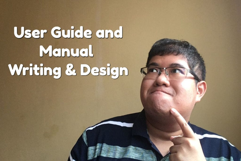 user guide & manual writing